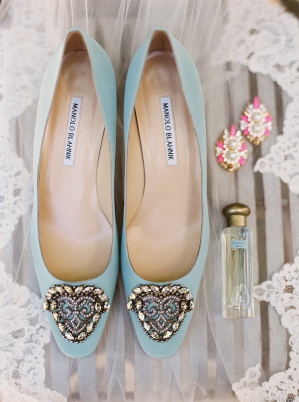 manolo blahnik wedding flats