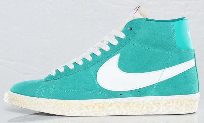 Nike Blazer High VNTG - New Green / Lush Teal | KicksOnFire.com