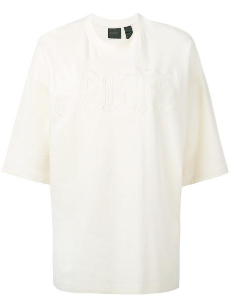 Fenty x Puma t-shirt shirt t-shirt women white cotton top