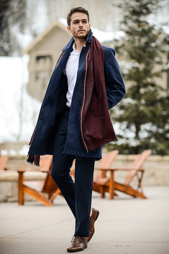 i am galla blogger scarf menswear winter outfits