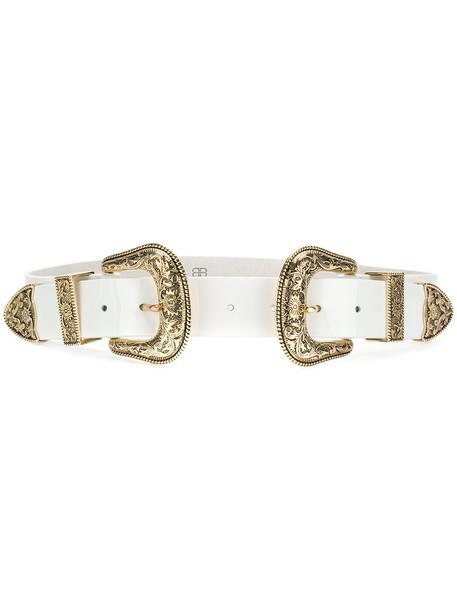 B-Low The Belt - Bri Bri belt - women - Leather - M, White, Leather