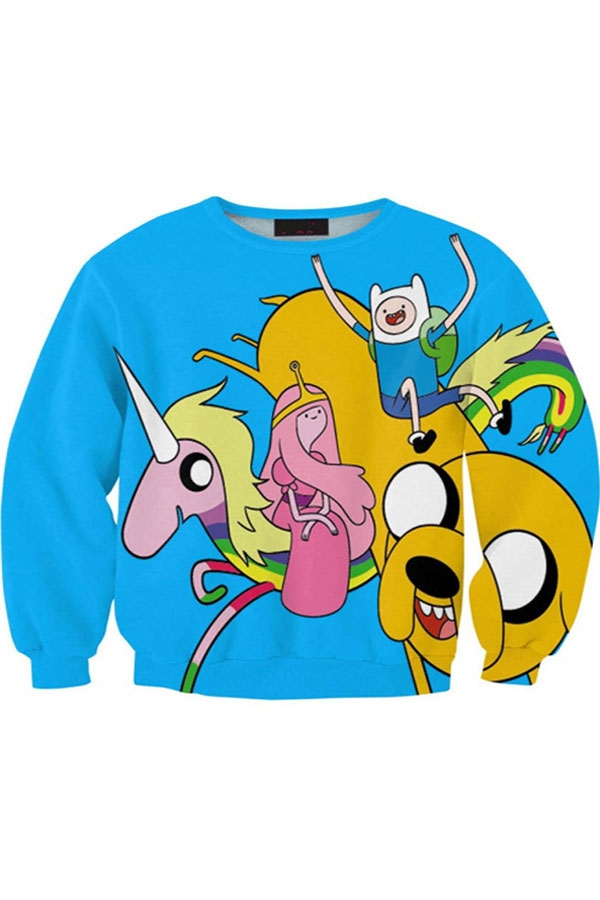 Fairy and Unicorn Sweatshirt - OASAP.com