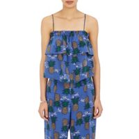 Sea Crêpe De Chine Cami at Barneys.com
