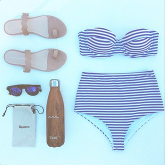 swimwear bikini stripes