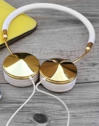 jewels gold headphones earphones