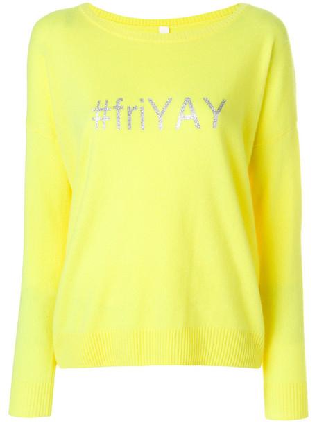 Philo-Sofie jumper women print yellow orange sweater