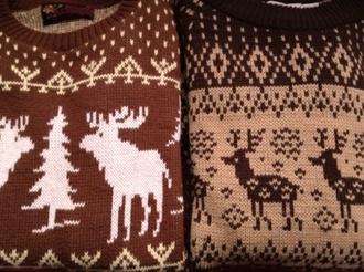 sweater jumper rain deer deer christmas sweater