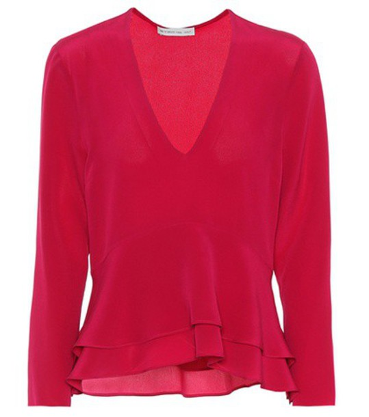 ETRO top silk pink