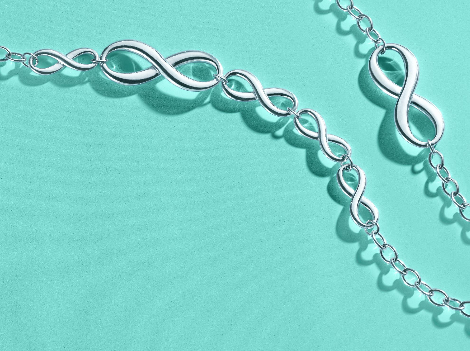Tiffany infinity bracelet in sterling silver tiffany co for Where is tiffany and co located