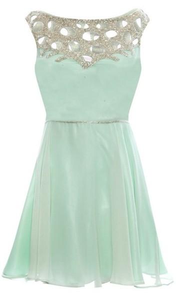 Dress mint dress mint dress blue dress green dress mini dress formal dress fashion prom - Light blue and mint green ...