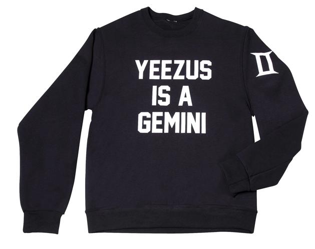 Yeezus is a gemini