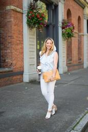 avecamber,blogger,jewels,mules,pants,top