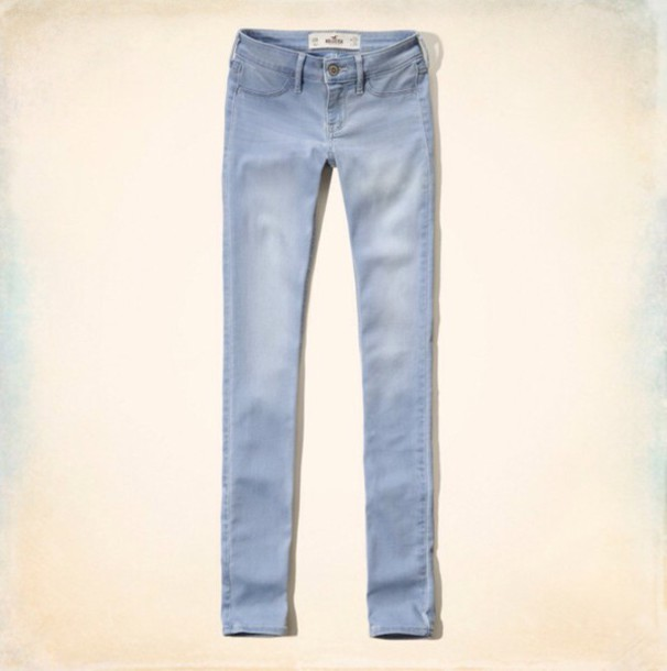 jeans light blue hollister jewels