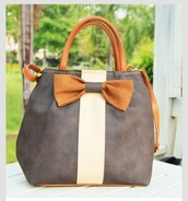 bag,small leather tote bag with bow