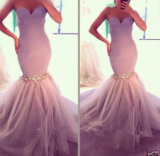 dress purple tulle skirt lavender prom dresses mermaid prom dress