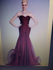 dress,burgundy,prom,prom dress,long,long prom dress,long dress,clothes