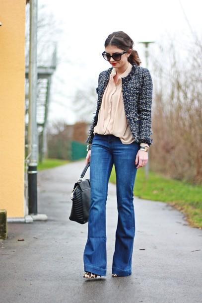 fashionhippieloves jacket blouse pants bag shoes sunglasses