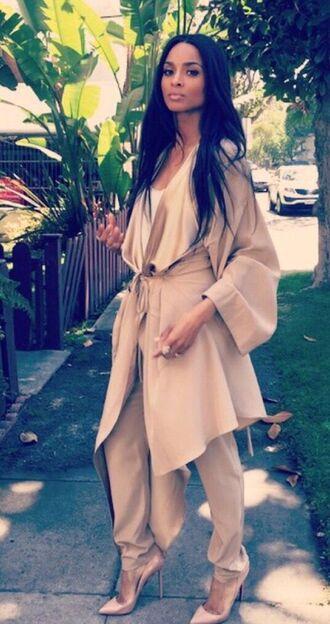 jacket camel trench coat ciara nude