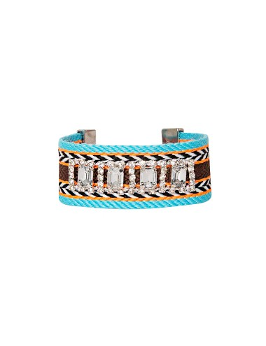 Diamond Tribal Bracelet - Statement Bracelet -$19