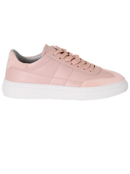Hogan sneakers pink shoes