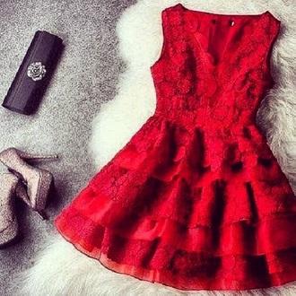 dress lace dress lace cute