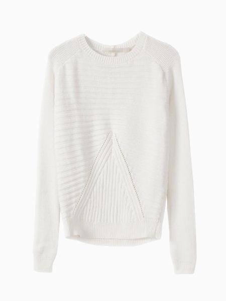 White Aran Sweater | Choies