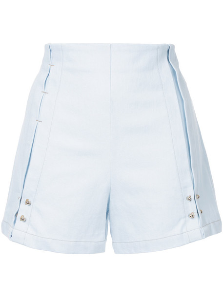 Manning Cartell shorts women cotton blue