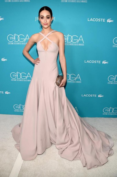 dress gown emmy rossum prom dress wedding dress