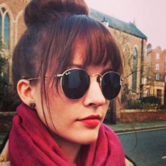 sunglasses round sunglasses ray bands rayban grunge hipster