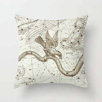 home accessory science galaxy pillow birds