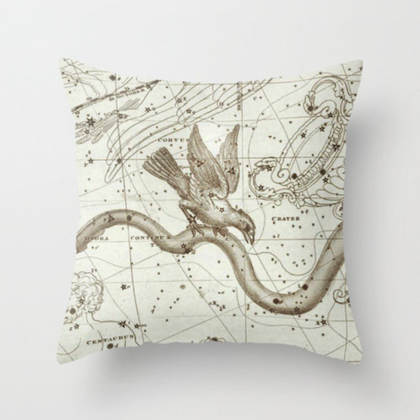 home accessory science galaxy print pillow birds our favorite home decor 2015
