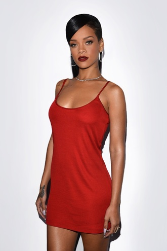 dress rihanna red dress rihanna red dress red satin dress