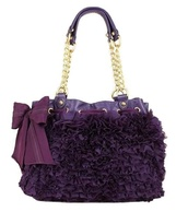 bag,juicy couture,purse,ruffle
