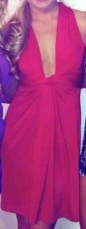 dress,v neck dress