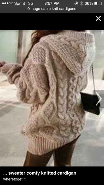 cardigan knit any color