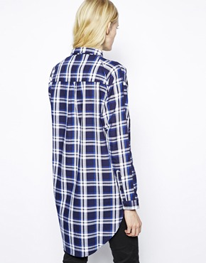 Just Female | Just Female Checked Shirt at ASOS