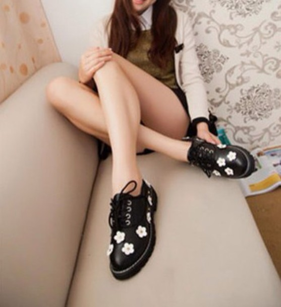shoes kawaii shoes creepers