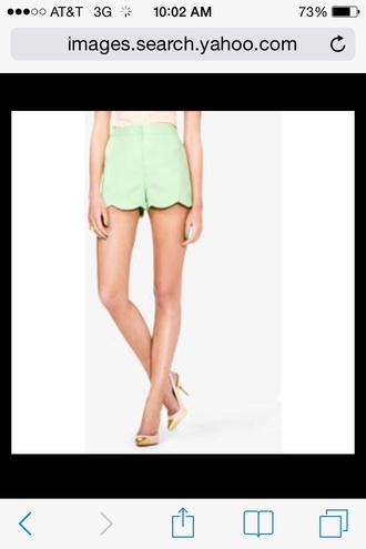 green shorts shorts