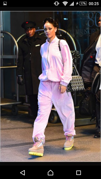 shoes pink shoes rihanna shoes pink by victorias secret i love pink girls sneakers pink boots badgal riri bad girls club rihanna pink lovely pink sneakers rihanna style