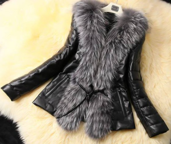 jacket fur fur coat