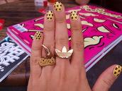 jewels,adidas,snob,gold,ring,jewelry,hot