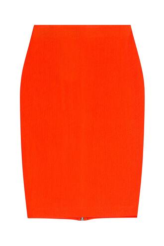 skirt pencil skirt red