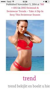 swimwear,bikini,red,style