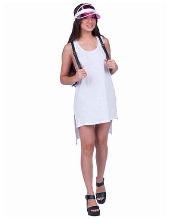 dress white dress hi low dress high low dress