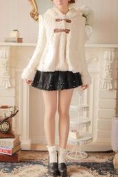 coat,winter coat,fuzzy coat,furry coat