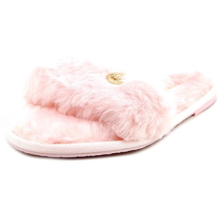 2ef728db13d49 Michael Michael Kors Jet Set MK Slide Women Open-Toe Synthetic ...