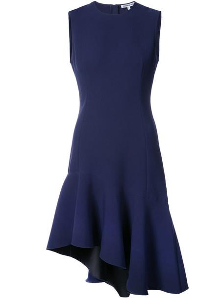 Elizabeth and James dress women spandex blue