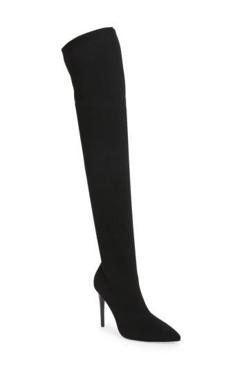 KENDALL   KYLIE Anabel Knit Over the Knee Boot (Women)   Nordstrom