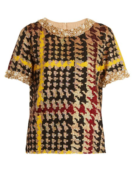 Ashish top embellished top short embellished