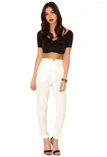 Marilyn Cigarette Trousers - Trousers - Missguided